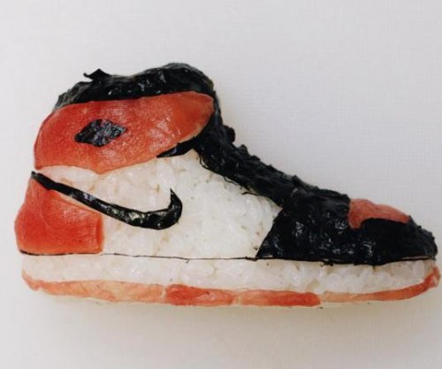 Italian Sushi chef recreates NBA players and their shoes