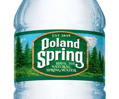 Lawsuit alleges Poland Spring water isn't from a spring