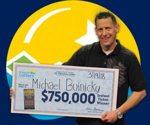 North Carolina veteran wins two lottery jackpots in 5 weeks
