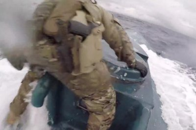 Watch: U.S. Coast Guard apprehends narco-sub with 16,000 pounds of cocaine