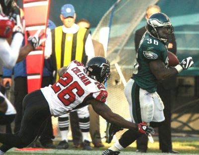 NFL: Philadelphia 27, Atlanta 14