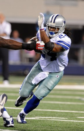Cowboys' Barber out with injury