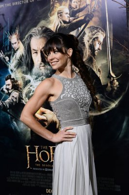 Evangeline Lilly in Middle-earth postage stamp, feels 'honored'