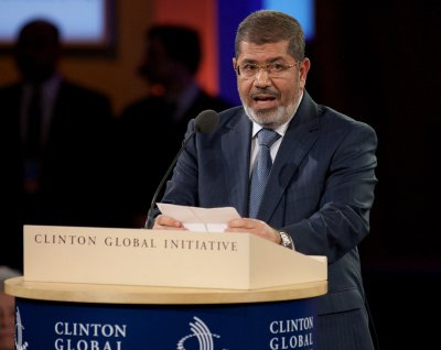 Deposed Egyptian President Morsi makes second court appearance