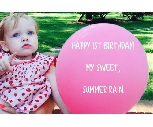 Christina Aguilera celebrates daughter's first birthday