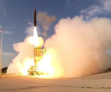 U.S.-Israel Arrow 3 missile completes first intercept test