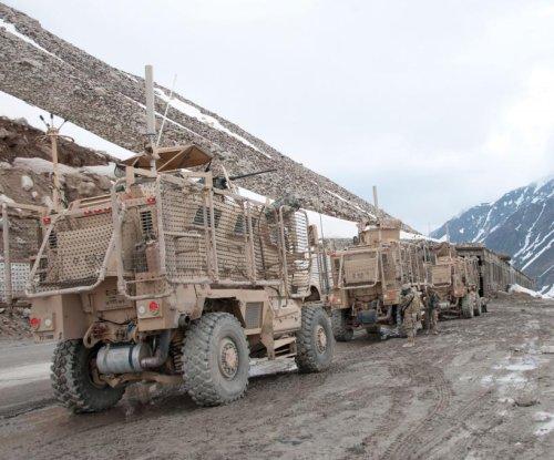 U.S. and U.K. to study robotic troop re-supply