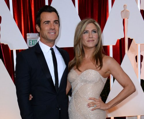 Justin Theroux on wife Jennifer Aniston: 'We get along'
