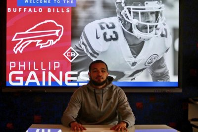 Buffalo Bills cut No. 2 CB Phillip Gaines