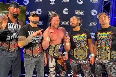 AEW Dynamite: Kenny Omega reunites with Young Bucks, Good Brothers