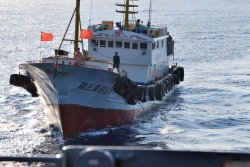 Chinese boat detained by authorities after suspected North Korea activity