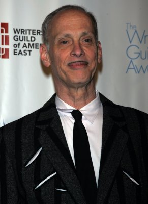 John Waters hitchhiking across the U.S.