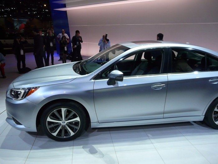 Subaru calls new 2015 Legacy sedan a terrific jumpup  UPIcom