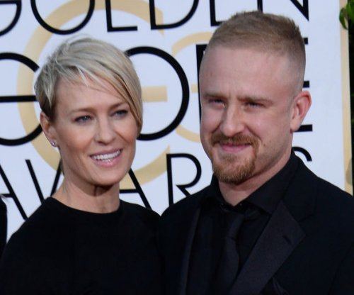 Robin Wright gushes over fiance Ben Foster