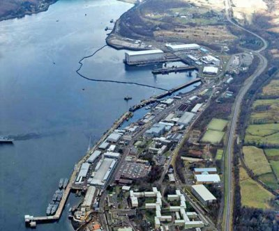 British Royal Navy upgrading submarine base in Scotland
