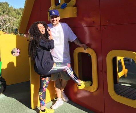 Rob Kardashian celebrates 29th birthday with Blac Chyna