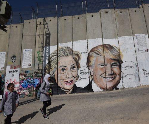 Trump, Zuckerberg, Clinton show up in new West Bank graffiti murals