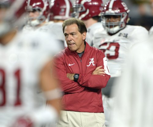 Alabama Crimson Tide's Nick Saban was recruiting during CFP announcement