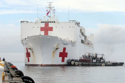 Hospital ship USNS Comfort sails Friday to help refugees from Venezuela