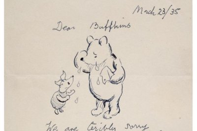 Letter from 'Winnie the Pooh' to young fan fetches more than $15,000