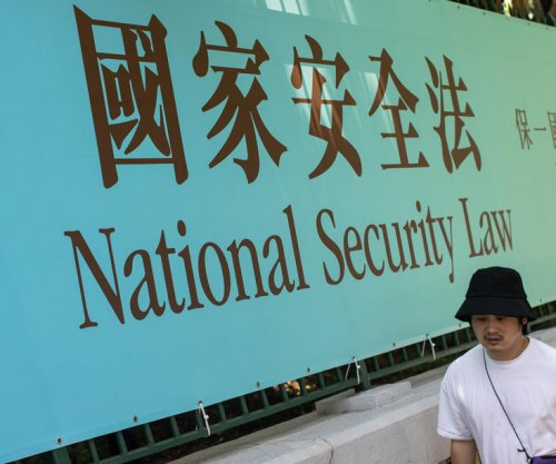 Hong Kong sentences first person convicted under contested security law