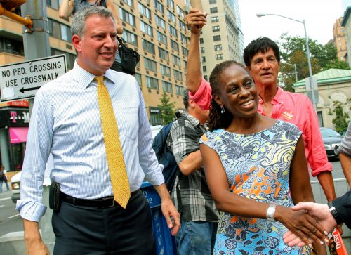 Democrat Bill de Blasio leads with 39 percent in NYC mayoral primary