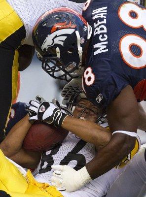 Broncos' McBean accused of stalking