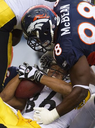 Broncos' McBean accused of stalking
