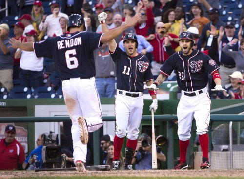 MLB: Washington 6, Atlanta 5 (1st game)