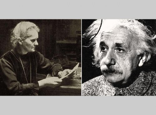 Marie Curie gets advice from Albert Einstein in lost letter