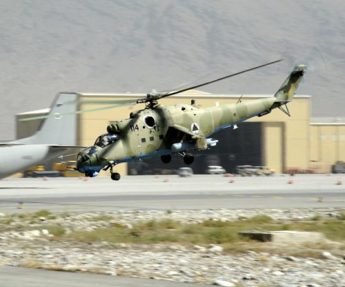 Afghanistan and Russia to sign delivery deal for Mi-35 helicopters