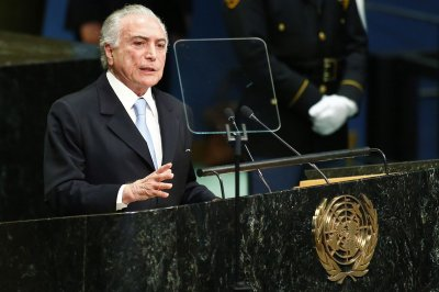 Brazilian president says he will block proposed bribe amnesty measure