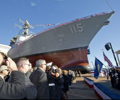 New destroyer delivered to the U.S. Navy