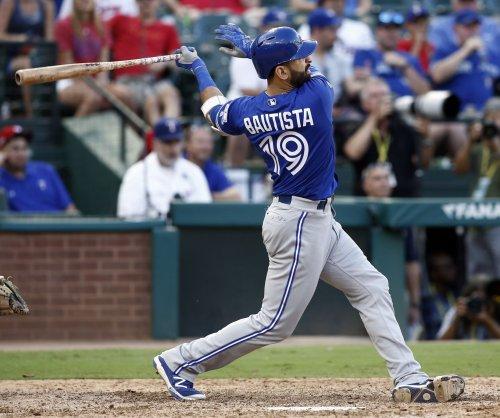 Jose Bautista belts two-run homer in Toronto Blue Jays' 4-0 win vs. Seattle Mariners