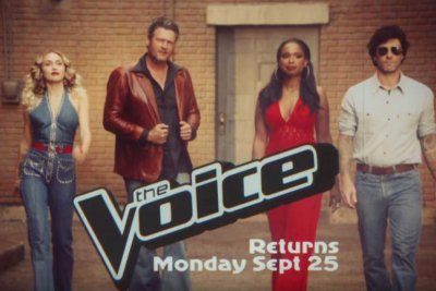 'The Voice': Blake Shelton, Adam Levine star in 1970s inspired promo