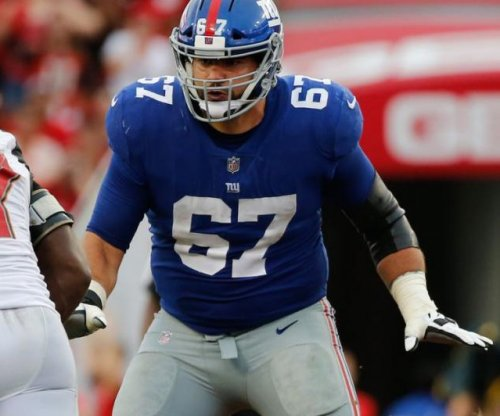 New York Giants place guard Justin Pugh on injured reserve; Giants career likely over