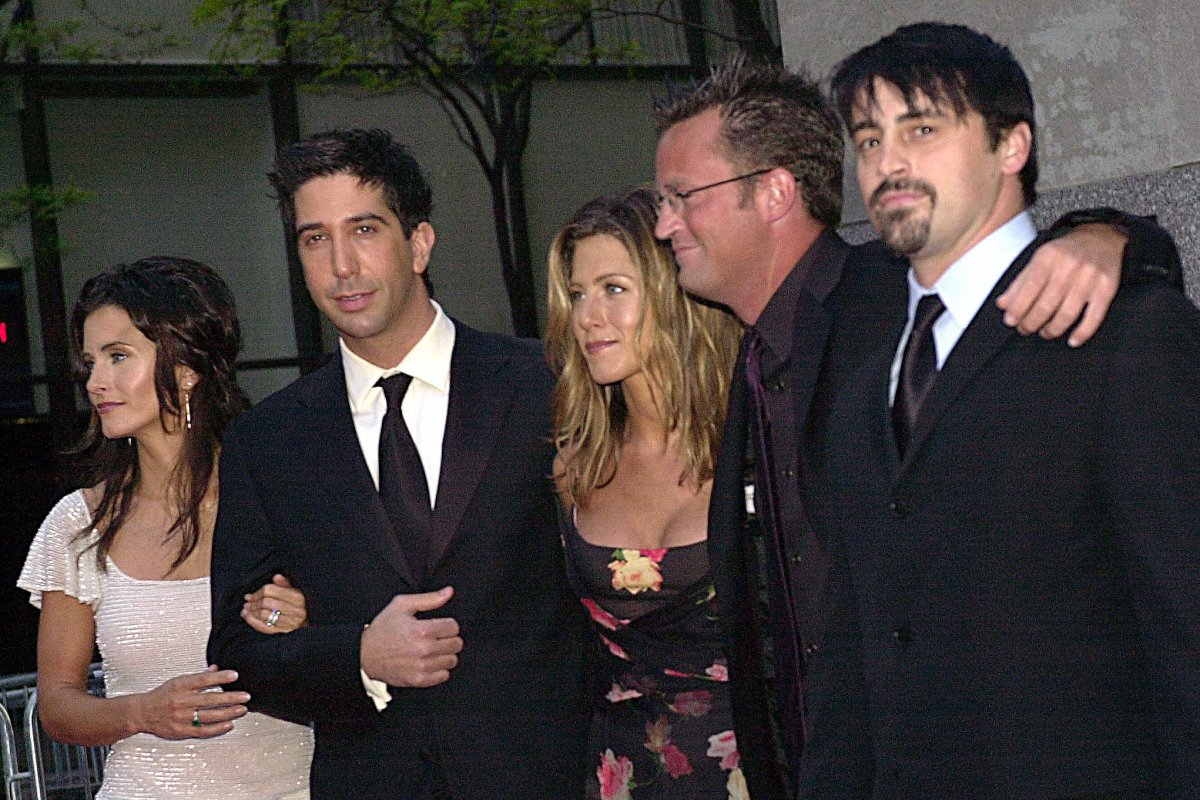 The Cast Of Friends 2015