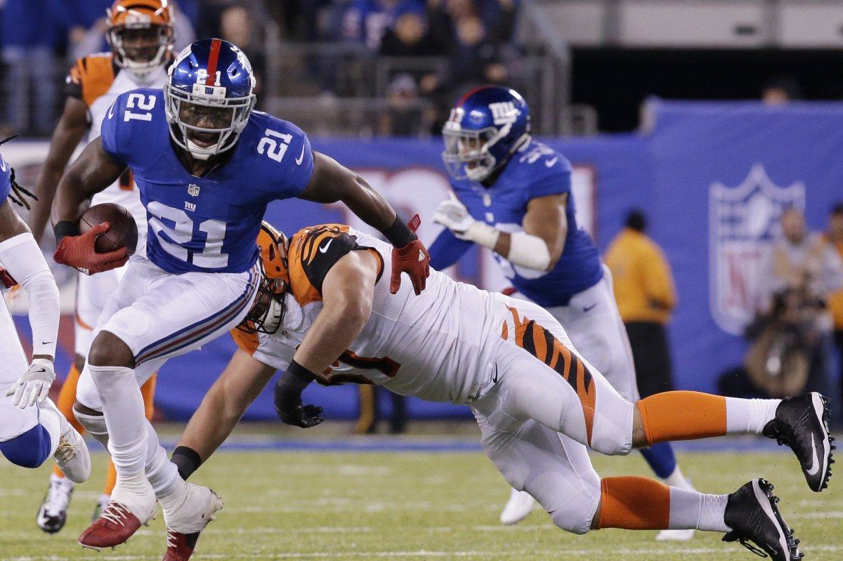 New York Giants safety Landon Collins upset over Cleveland Browns