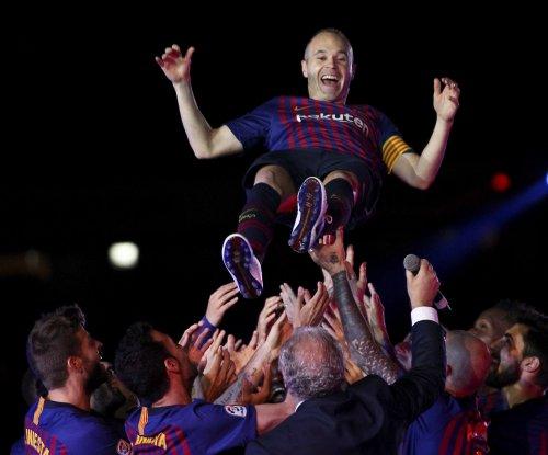 FC Barcelona beats Real Sociedad in Andres Iniesta's finale