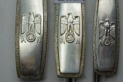 Silver cutlery set owned by Hitler sells for nearly $17,000