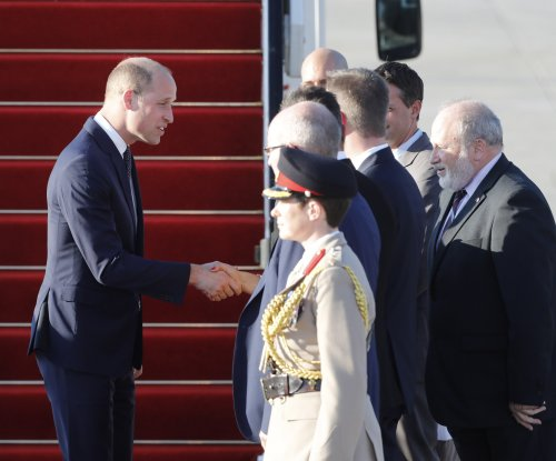Britain's Prince William makes first royal visit to Israel