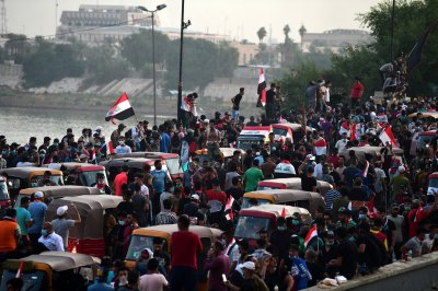 Iraqi protesters lose their fear