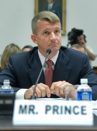 Ex-Blackwater leader defends firm