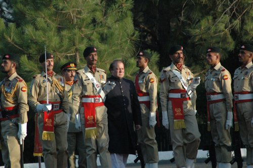 Sharif elected Pakistan's prime minister for third time