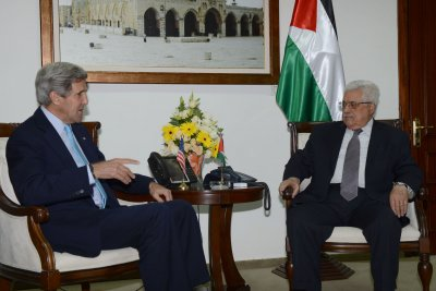 Kerry cancels meeting with Mahmoud Abbas
