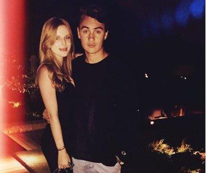 Bella Thorne dating Pamela Anderson's son Brandon Lee