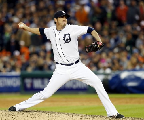 Detroit Tigers place Joe Nathan on DL with elbow injury