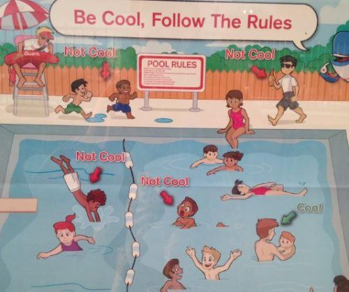 Red Cross apologizes for 'Be Cool' swimming poster over racism claims
