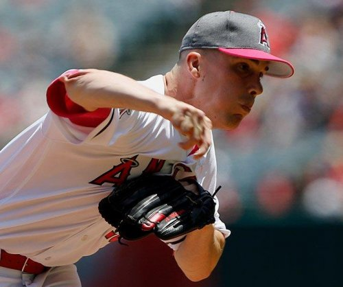 Alex Meyer shuts down Detroit Tigers in 4-1 Los Angeles Angels victory