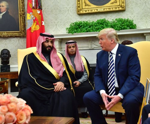 Trump meets with Saudi Arabia's crown prince